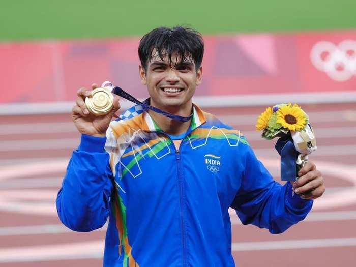 Neeraj Chopra Gold Medal in Tokyo Olympics