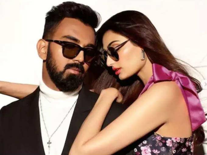 KL Rahul and Athiya Shetty