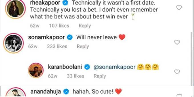 karan boolani reveals about first date
