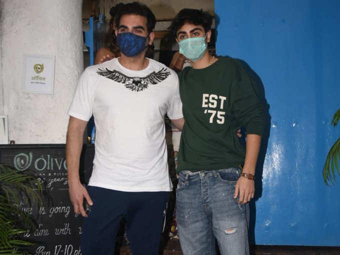 Arbaaz with son Arhaan