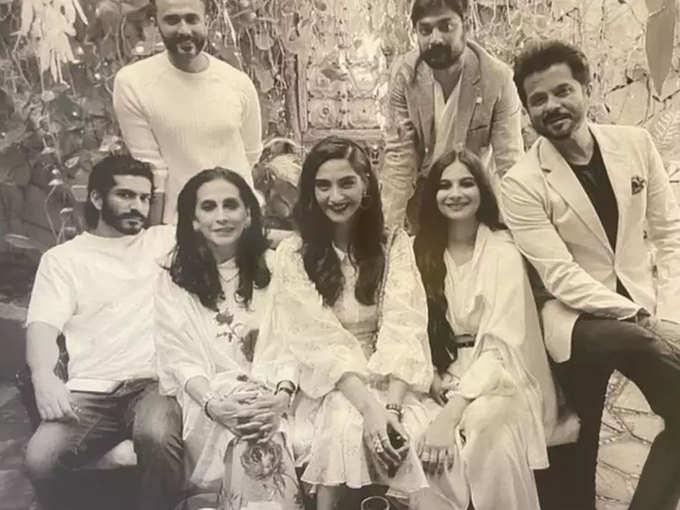 Anil Kapoor's family members