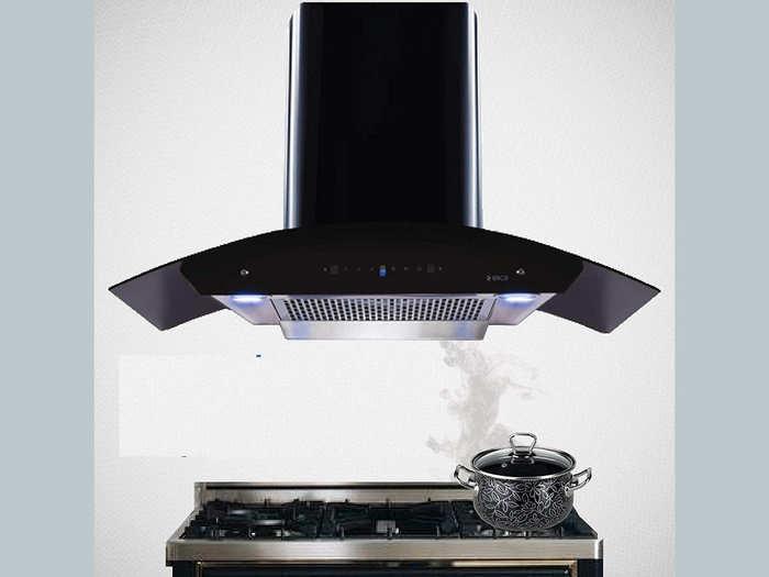 200 स्क्वायर फीट तक के किचन के लिए सूटेबल हैं ये फिल्टरलेस टेक्नोलॉजी वाली Kitchen Chimney