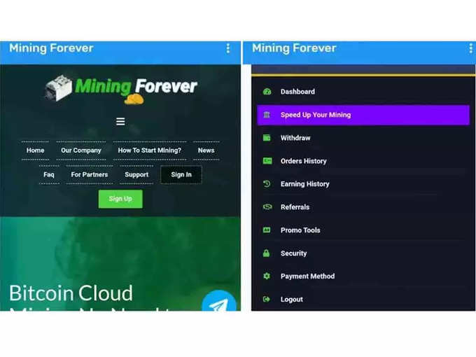 Mining Forever