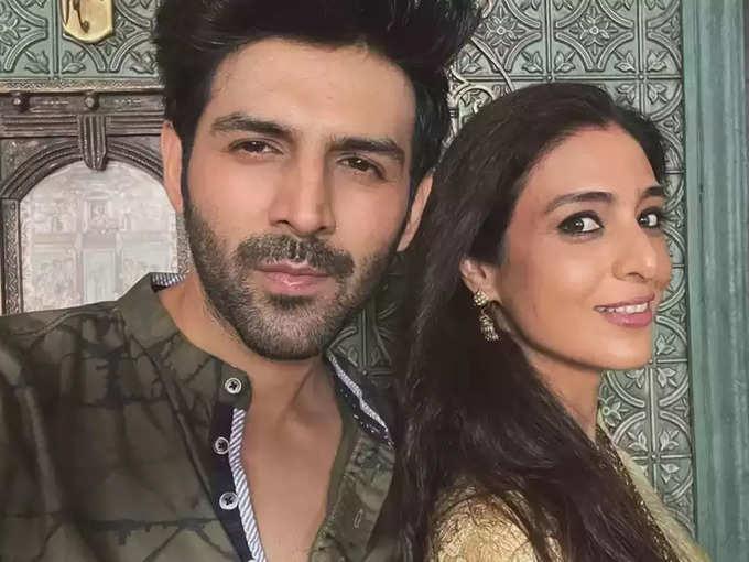 Kartik Aaryan and Tabu