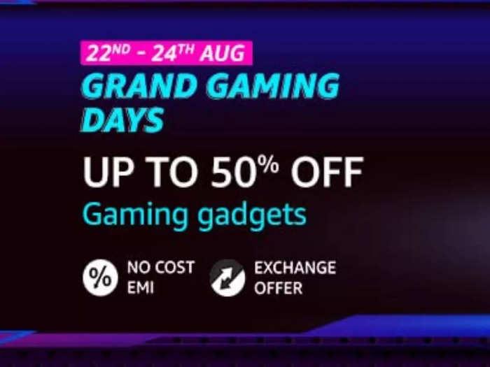 Amazon Grand Gaming Days