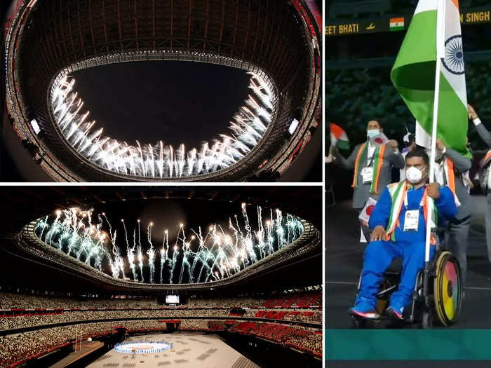 watch photos and videos of tokyo 2020 paralympics opening ceremony