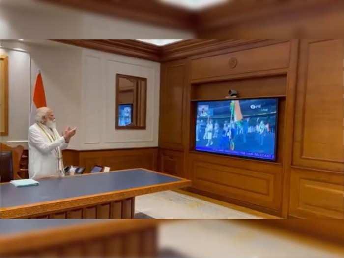 Video : पंतप्रधानांनी पाहिला पॅरालिम्पिकचा उद्घाटन सोहळा; खेळाडूंना दिला विशेष संदेश