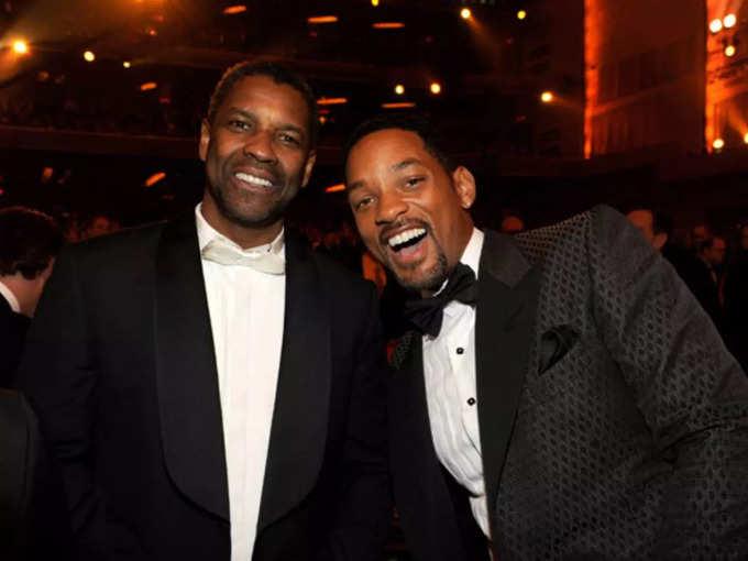 Will Smith and Denzel Washington