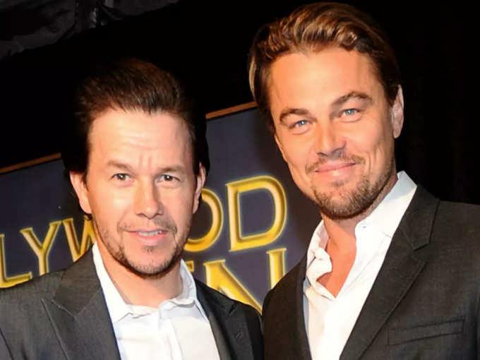 Leonardo DiCaprio and Mark Wahlberg