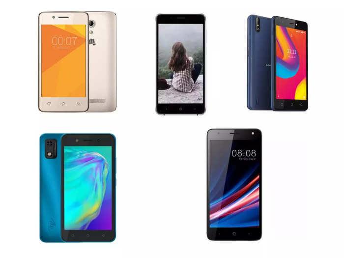 Jio Phone Next vs smartphones under 5000