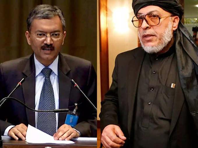 Indian Ambassador meets Taliban leader