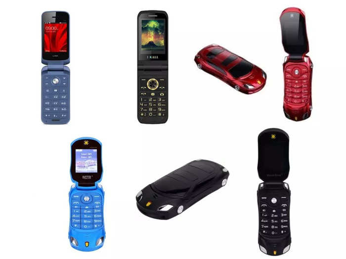 Foldable Feature Phones Under 2000