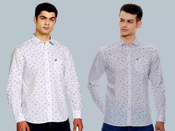 बेस्ट हैं यह प्रिंटेड व्हाइट शर्ट, इनसे मिलेगा स्पेशल लुक, कीमत 499 रुपए से है शुरू