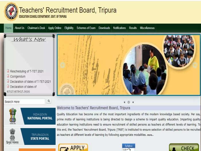 Tripura TET 2021 Admit Card and New Exam Dates