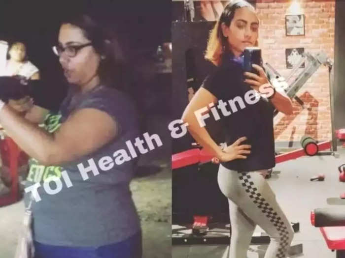this homemaker gave up sugar to lose 22 kg weight did 7 months workout read her inspiring weight loss journey