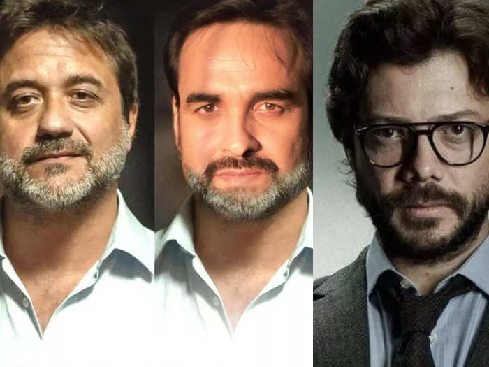 Money Heist 5 cast look like bollywood actors