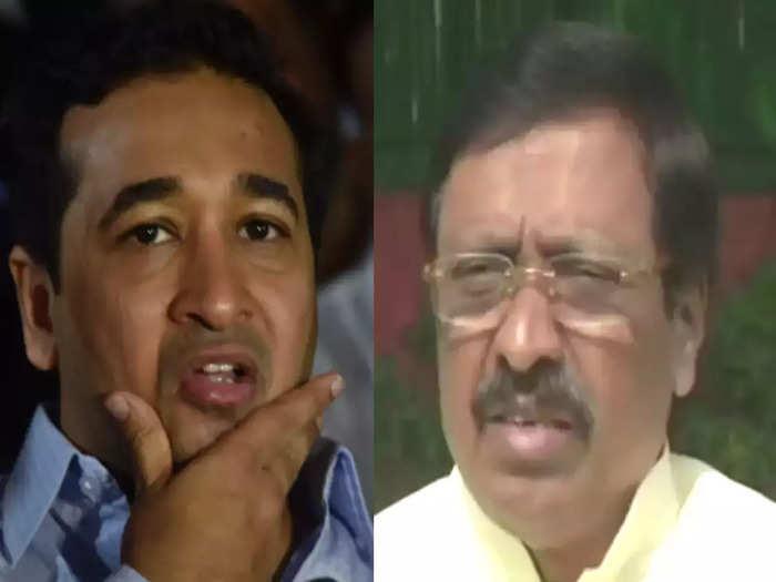 mla nitesh rane criticizes shiv sena mp vinayak raut regarding his statement about chipi airport in sindhudurg