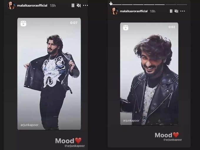 Malaika Arora is all hearts for Arjun Kapoor's 'good hair day mood'