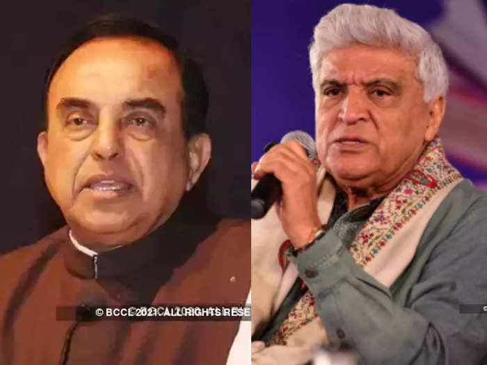 subramanian swamy slams javed akhtar on taliban comments