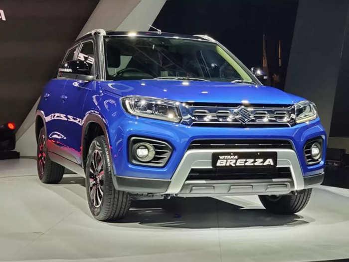 Maruti Vitara Brezza Best Selling SUV August 2021