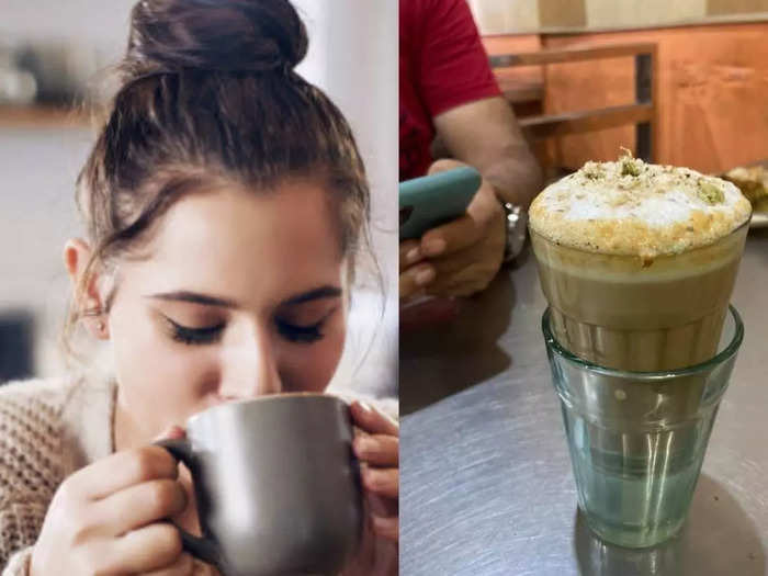 have you ever tried almond tea and here know amazing health benefits of badam milk tea