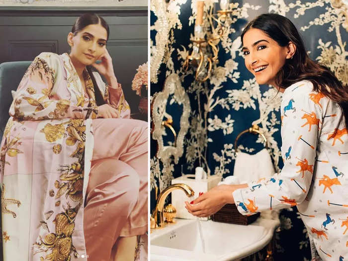Sonam Kapoor posted 10 beautiful pictures from her London house