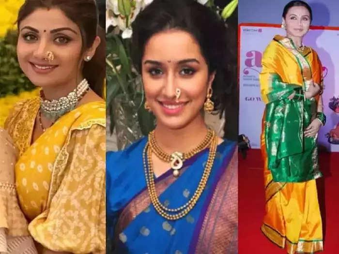 ganesh chaturthi 2021 shraddha kapoor to shilpa shetty follow these bollywood actresses traditional stylish look