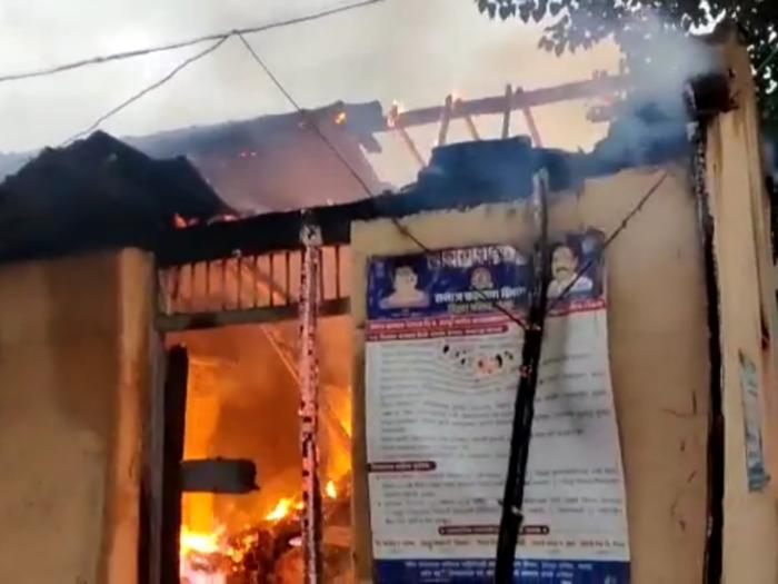 chandrapur fire
