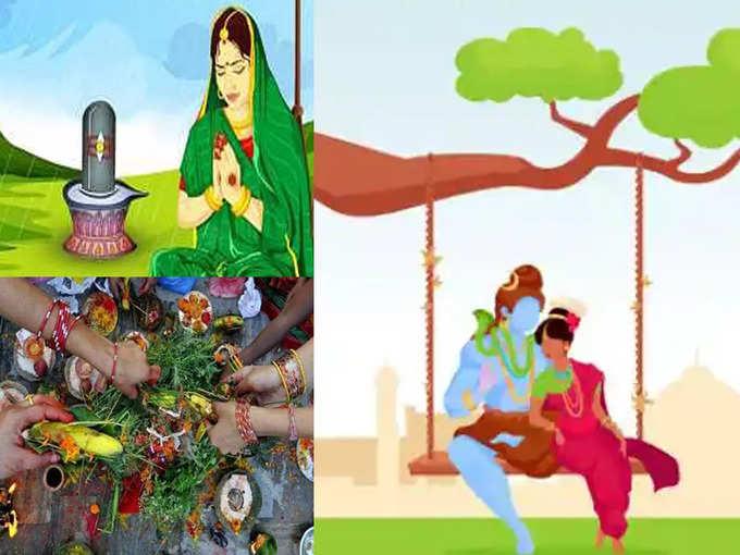 Hartalika tritiya 2021 : सुखी वैवाहिक आयुष्य हवे किंवा इच्छेनुसार पती तर हरतालिकेला करा हे खास उपाय