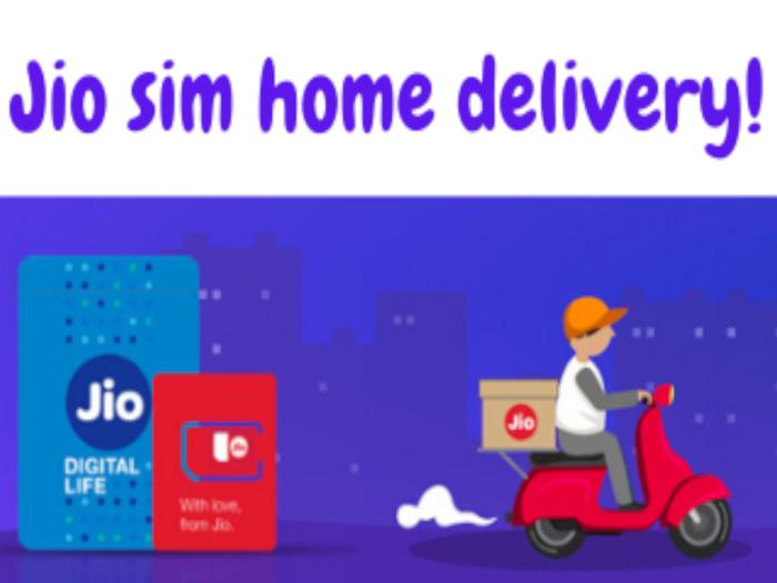 Free Jio SIM at home