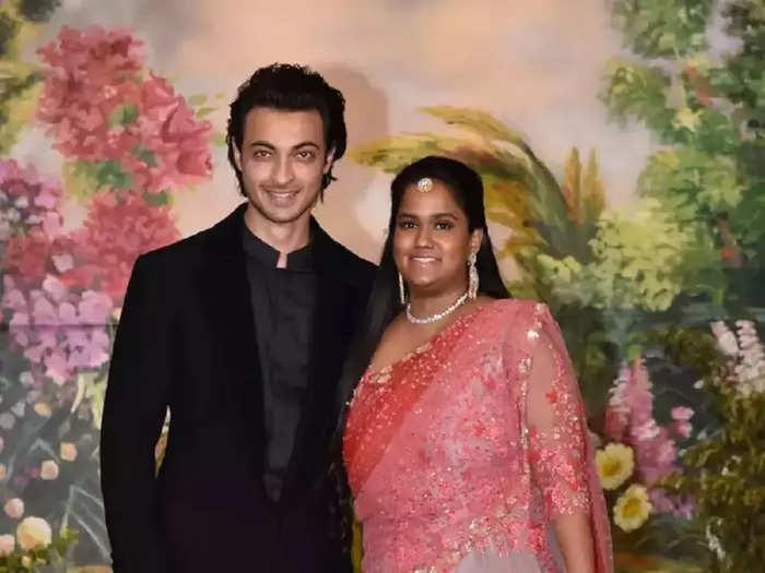 bollywood actor salman khan sister arpita khan wore stunning pastel pink gown for priyanka chopra wedding