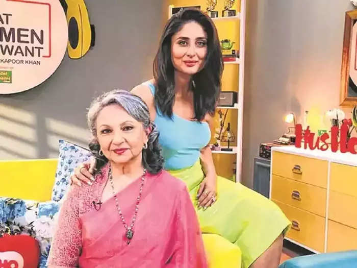 sharmila tagore said she is glad kareena kapoor khan is her daughter in law appreciates her composure