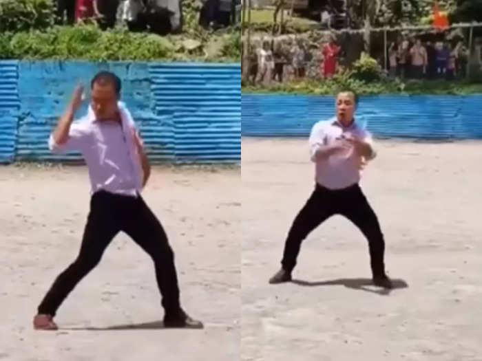 teacher viral dance video