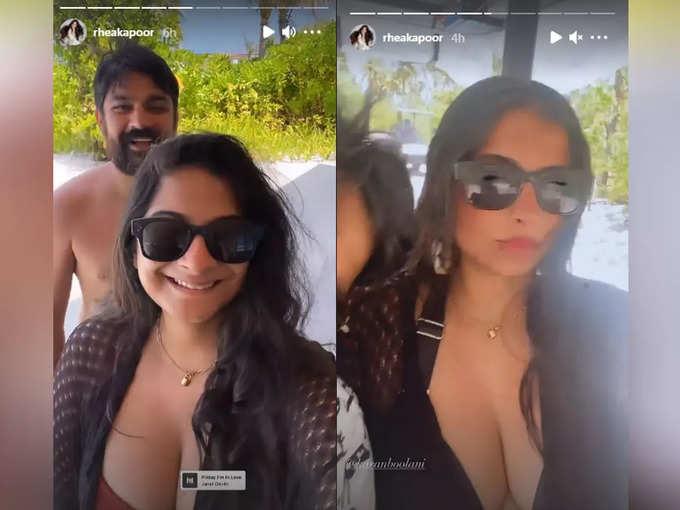 Karan Boolani and Rhea Kapoor
