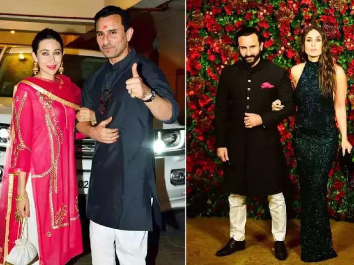 bollywood actress karisma kapoor wore white saree for sonam kapoor anand ahuja wedding reception designed by manish malhotra