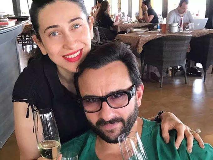 Saif Ali Khan and Karisma Kapoor