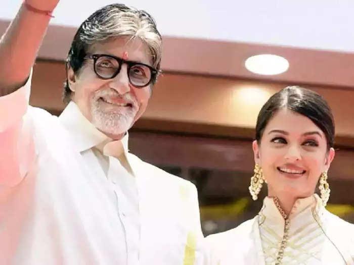when amitabh bachchan helped actress aishwarya rai to adjust her bold dress designed by toni maticevski