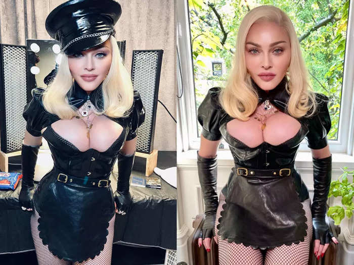 madonna surprises her fans on 2021 mtv vma stage performance