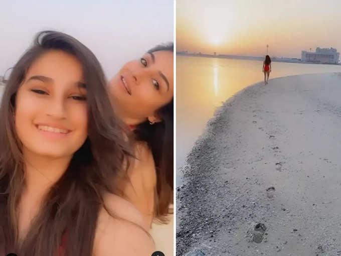 Raveena Tandon shared a video with daughter Rasha