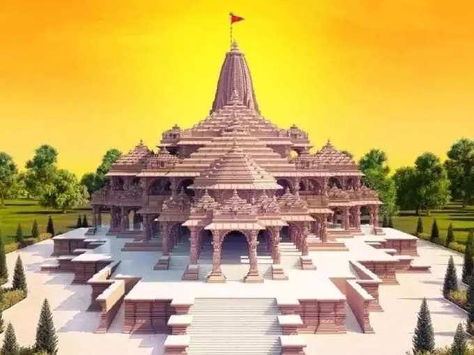 Changes in the design of Ram Mandir