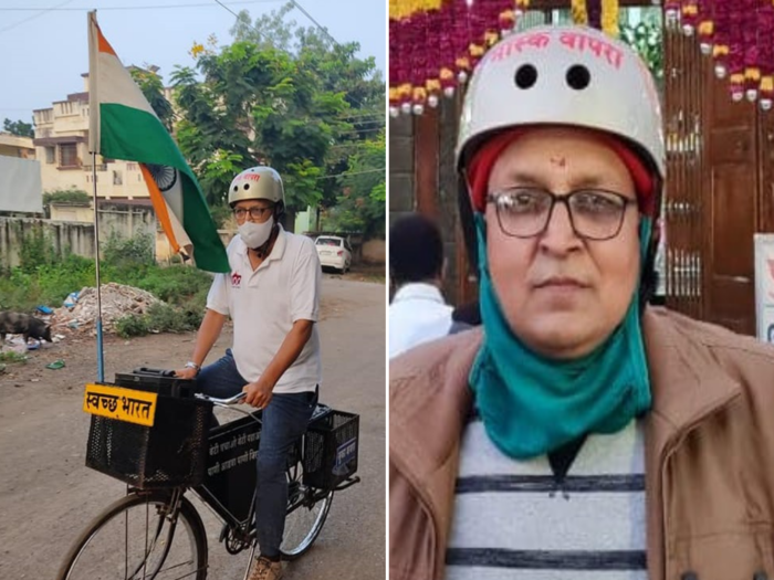 cycle journey from Shirdi to Delhi