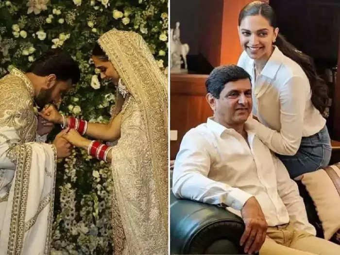 bollywood actress deepika padukone and her father prakash padukone broke down during last phera then ranveer ranveer singh did this