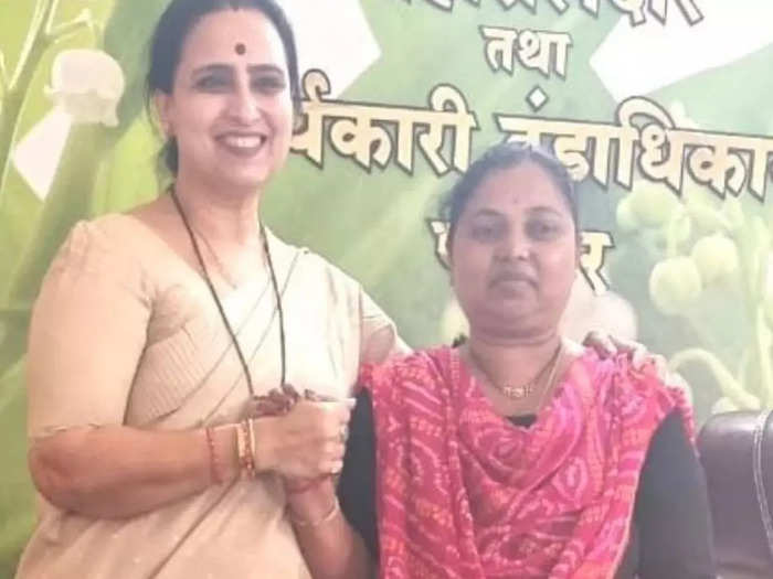 after transfer of deore chitra wagh made allegations against mla lanke and the government