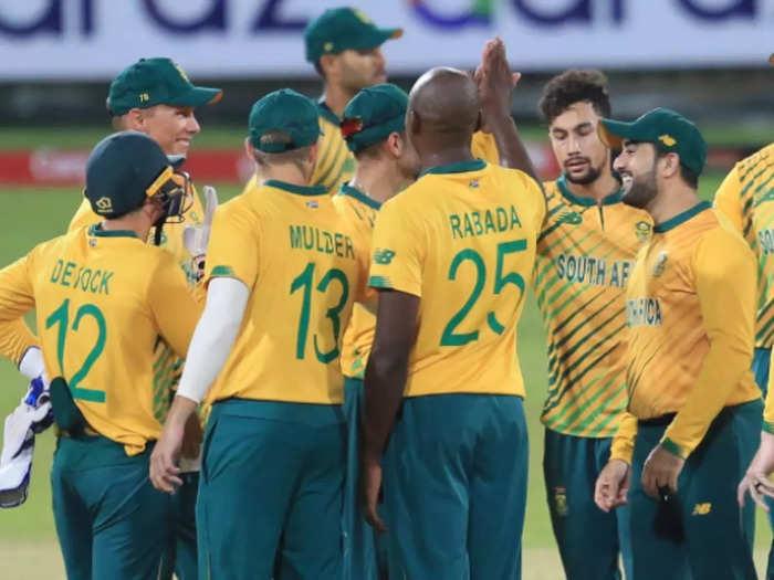 साउथ अफ्रीका की टीम