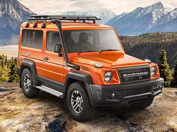 New Force Gurkha unveiled Look Design Features 1