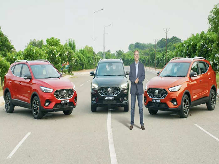 MG Astor SUV Unveiled Look Features India 1