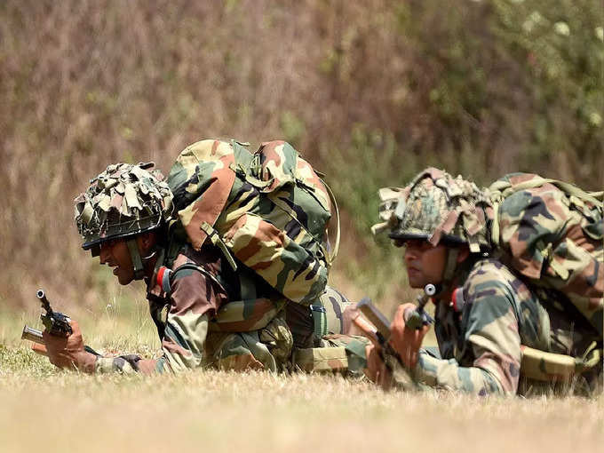 Indian Army joint training