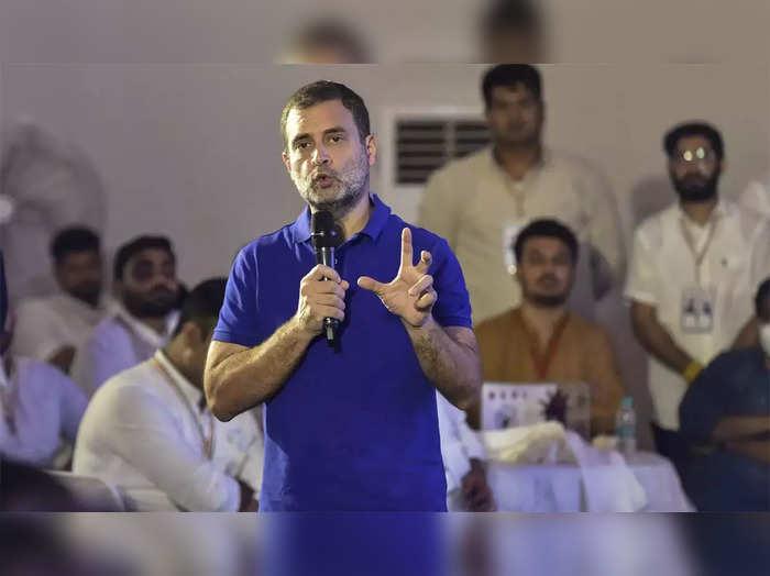 bjp mla rameshwar sharma slams congress leader rahul gandhi