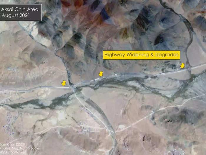 china extends highway near Daulat Beg