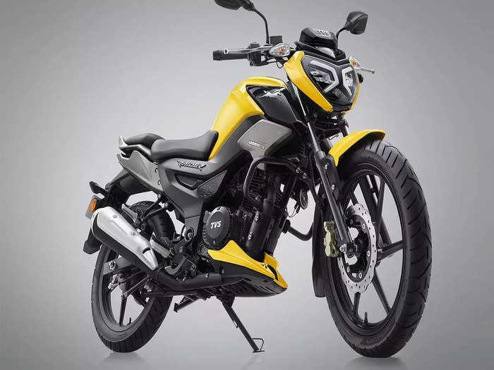 TVS Raider 125 Launch Price Features Look India